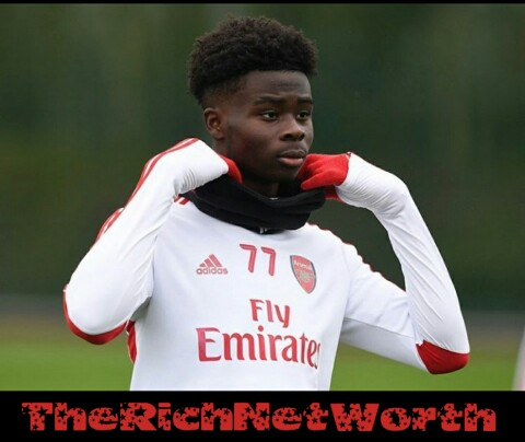 Bukayo Saka Net Worth in 2020