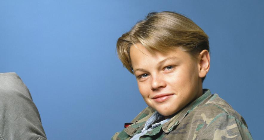Leonardo DiCaprio child actor